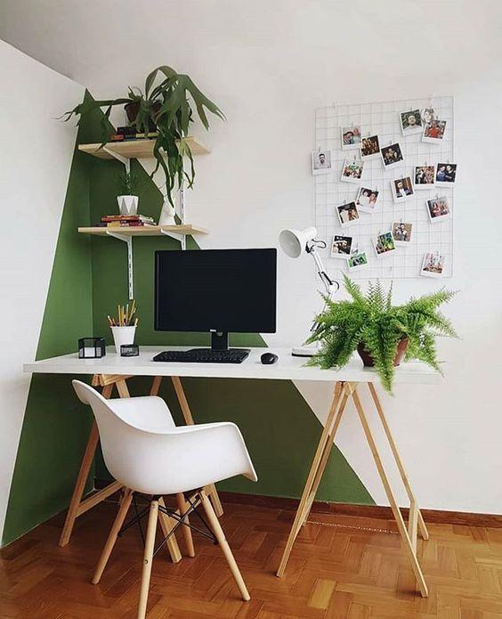 home office verde