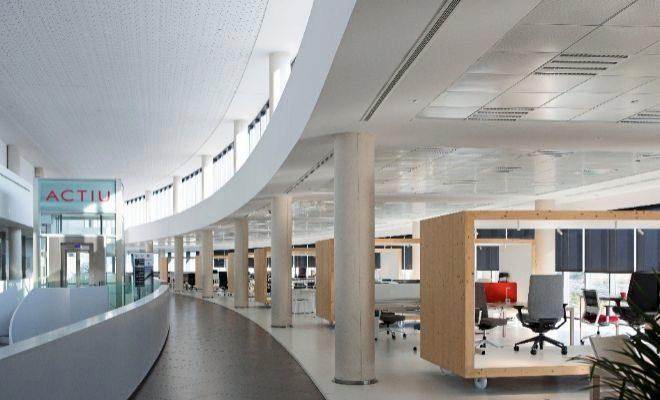 oficinas actiu diseño español